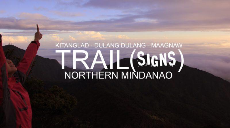 Die Philippinen im Video - Wegzeichen in Bukidnon beim Bergwandern