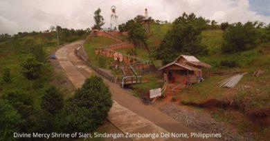 Die Philippinen im Video - Divine Mercy Shrine in Sindangan