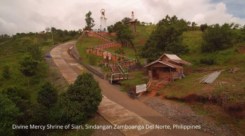 Die Philippinen im Video - Divine Mercy Shrine in Sindangan