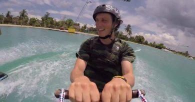 Die Philippinen im Video - Steyn Muller im CamSur Watersport Complex