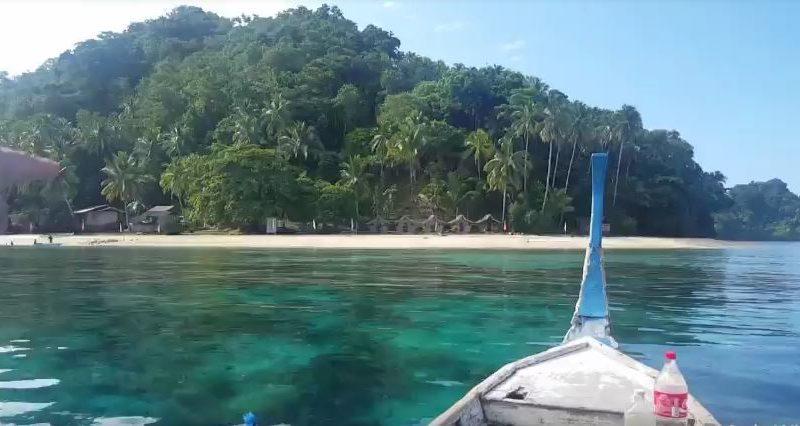 Die Philippien im Video - Die Insel Balot oder Balut in Kalamansig, in der Provinz Sultan Kudarat