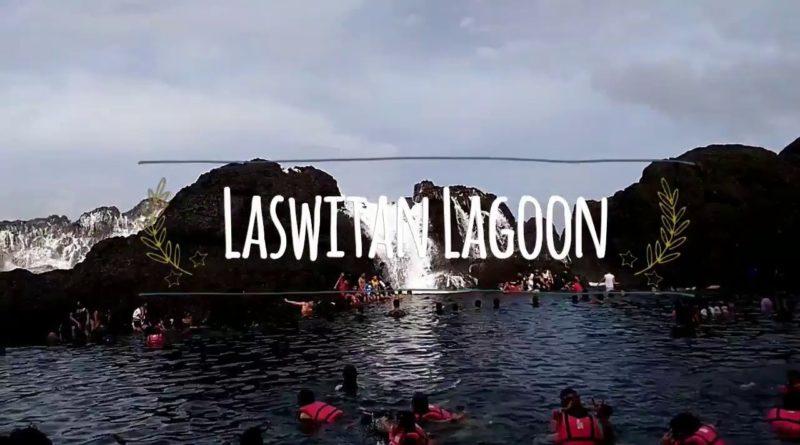 Die Philippinen im Video - Spektakuläre Brecher über den Felsen der Lasitan Lagune in Cortes, Surigao del Sur