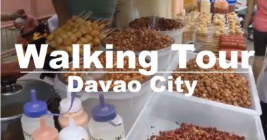 Die Philippinen im Video - Spaziergang durch die Innenstadt von Davao