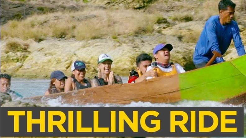 Die Philippinen im Video - Eine Fahrt mit dem Torpedoboot auf dem Ulot Fluss in Samar