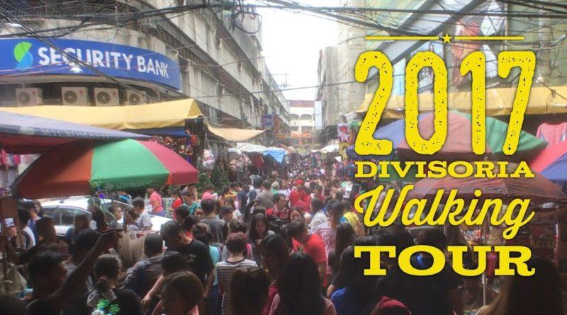 Die Philippinen im Video - Esstour durch das geschäftige Chinatown in Binondo Divisoria in der Stadt Manila