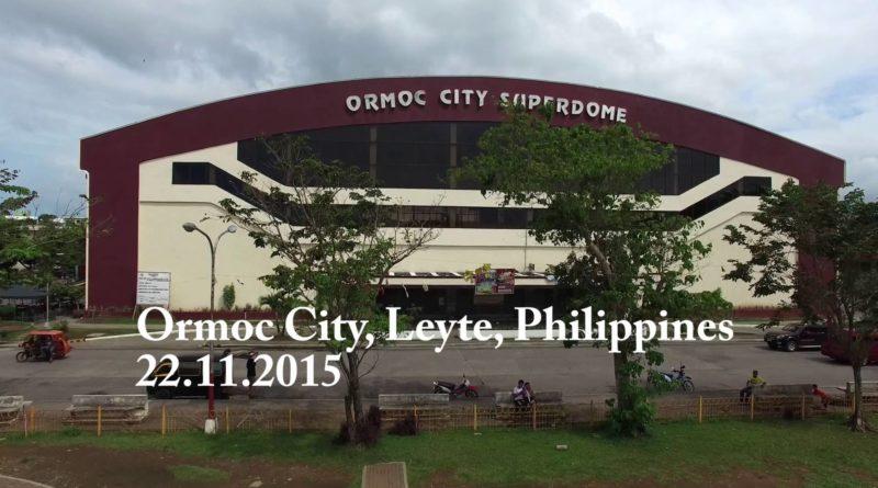 Die Philippinen im Video - Die Stadt Ormoc von oben gesehen.