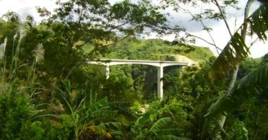 Die Philippinen im Video - Die Agas-Agas Brücke mitten im Regenwald in Southern Leyte