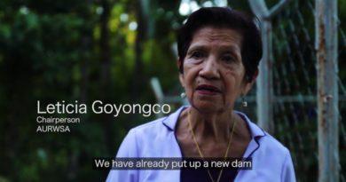 Die Philippinen im Video - Wasserprojekt in Cagwait