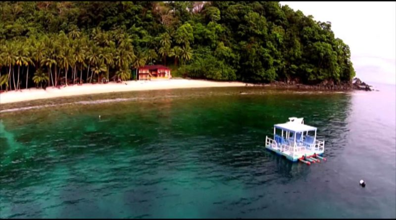 Die Philippinen im Video - Die Tuka Bucht in Kiamba, Sarangani