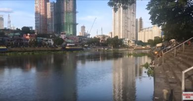 Die Philippinen im Video - Ein Ausländer fährt zum ersten mal mit der Pasig Fähre