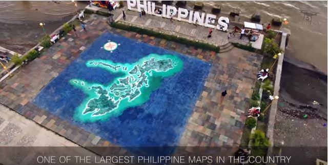 Die Philippinen im Video - Paseo de Santiago in der Stadt Iligan