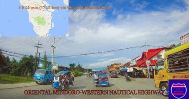 Die Philippinen im Video - Autofahrt von Calapan nach Bulalacao in Oriental Mindoro