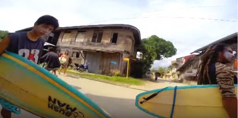 Die Philippinen im Video - Surf Club Lianga