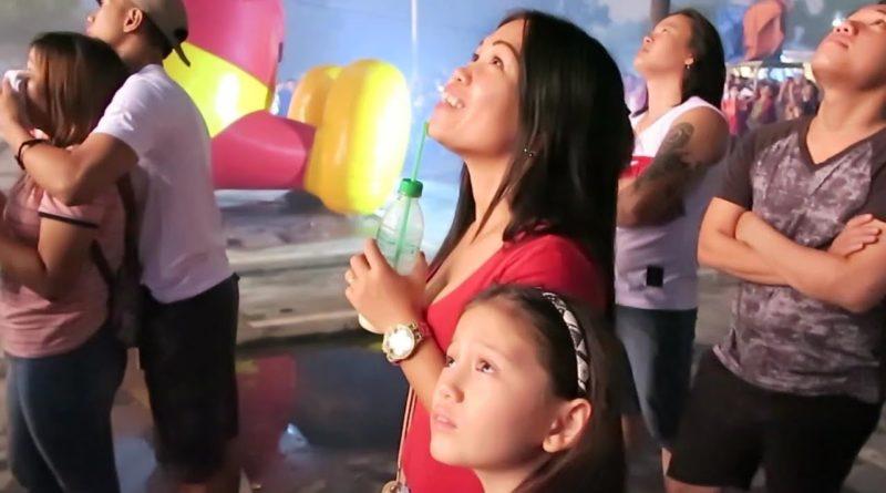 Die Phlippinen im Video - Ein tolles Weihnachtsfeuerwerk in Angeles City