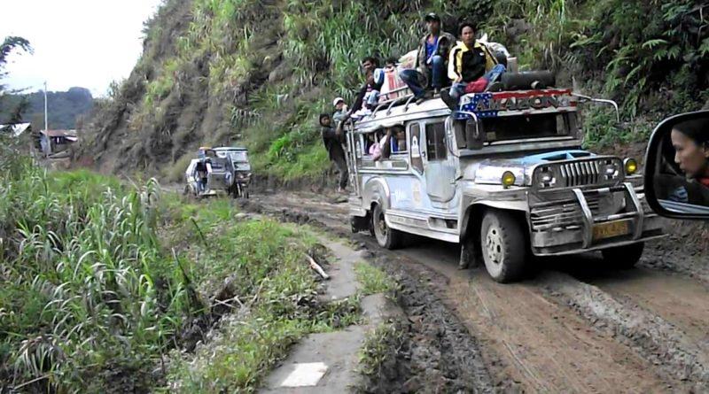 Die Philippinen im Video - Von Hapao nach Banaue durch Schlamm