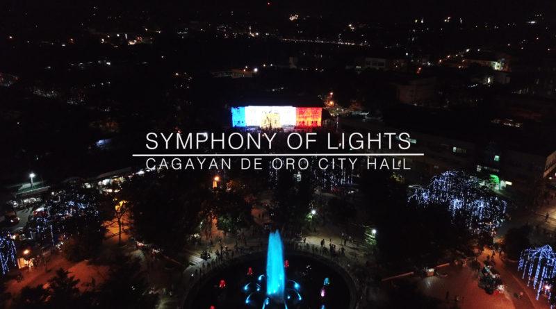 Die Philippinen im Video - Symphony der Lichter in Cagayan de Oro am Rathaus und Gaston Park