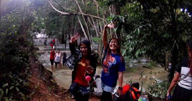 Die Philippinen im Video - Ein Besuch bei den Kaparkan Wasserfällen in Tineg in der Provinz Abra