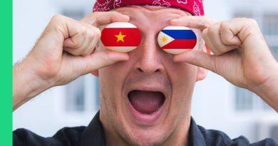 Die Philippinen im Video - Wettstreit zwischen Philippinen und Vietnam im Balutessen