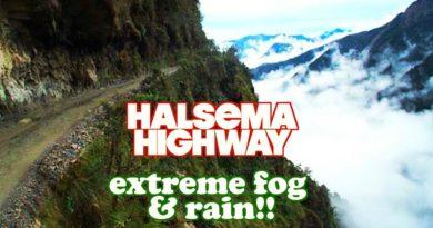 Die Philippinen im Video - Zur Monsunzeit kurz vor Weihnachten mit dem Auto unterwegs auf dem Halsema Highway