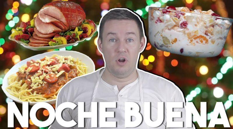 Die Philippinen im Video - Noche Buena Gerichte