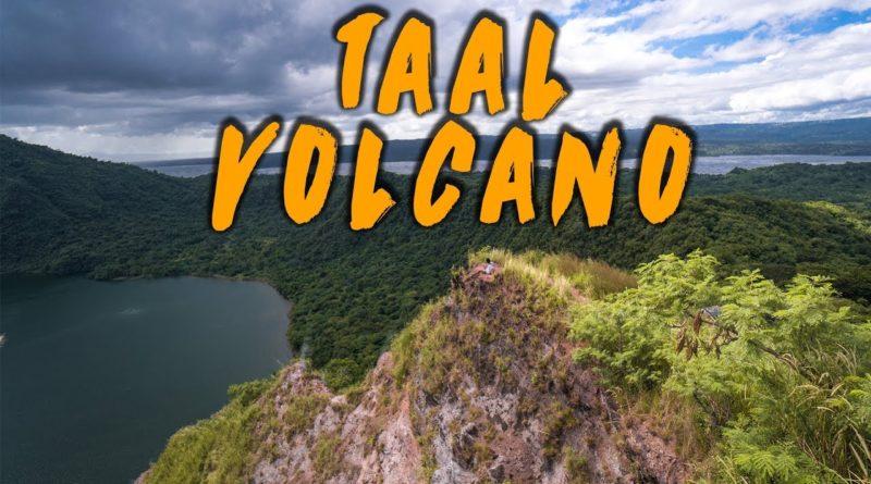 Die Philippinen im Video - Wanderung am zweitaktivisten Vulkan der Philippinen - der Taal