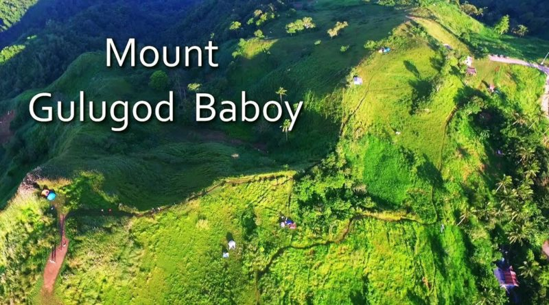 Die Philippinen im Video - Berwanderung auf den Mount Gulugod Baboy in Batangas