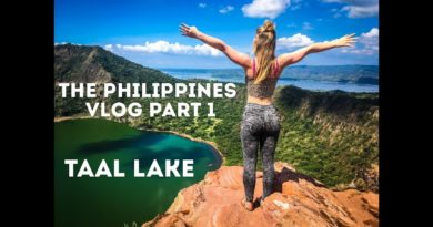 Die Philippinen im Video - Am Taal Vulkan und See in Tagaytay