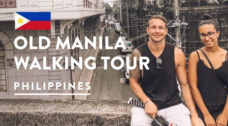 Die Philippinen im Video - Bomben, Kirchen und Friehöfe - Intramuros - altes Manila