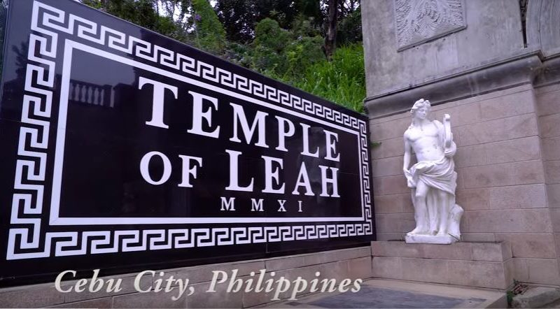Die Philippinen im Video - Temple of Leah und Blumen auf dem Sirao Peak in Cebu City