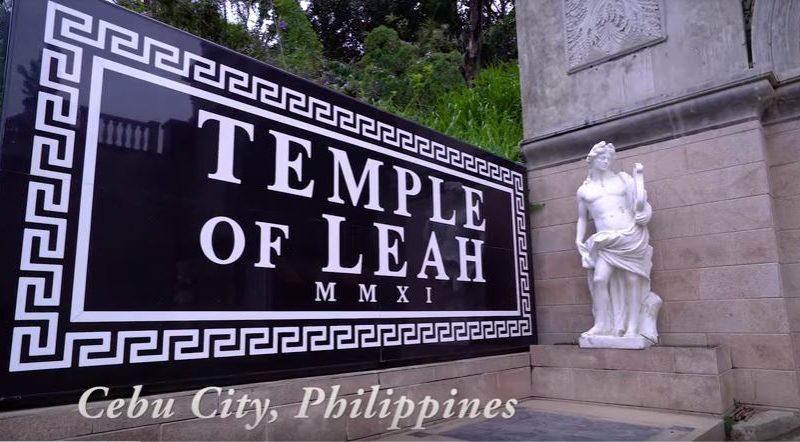 Die Philippinen im Video - Temple of Leah und Blumen auf dem Sirao Peak in Cebu City