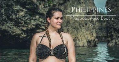 Die Philippinen im Video - Touristen entdecken die Magpupungko Pools auf der Insel Siargao