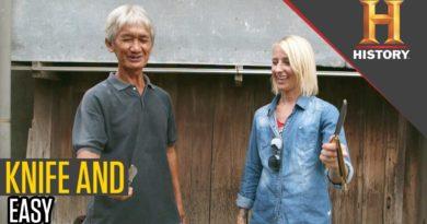 Die Philippinen im Video - Schmetterlingsmesser aus Batangas