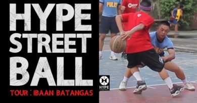 Die Philippinen im Video - Streetball in Batangas in dem Ort Ibaan