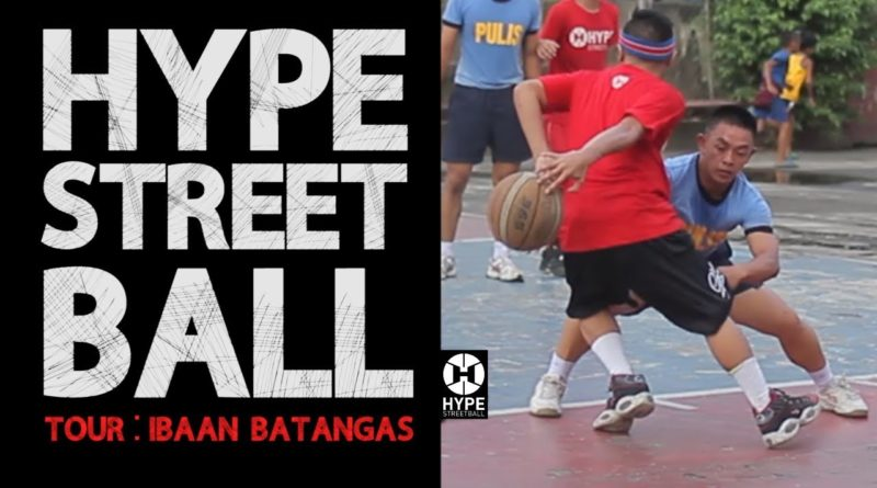 Die Philippinen im Video - Streetball in Batangas in dem Ort Ibaan