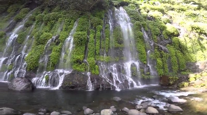 Die Philippinen im Video - Asik-asik Wasserfall in Alamda in Cotabato