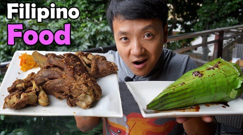 Die Philippinen im Video - Zum ersten Mal traditionelle philippinische Gerichte probieren