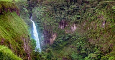 Die Philippinen im Video - Daday Wasserfall in Almada in der Provinz Cotabato