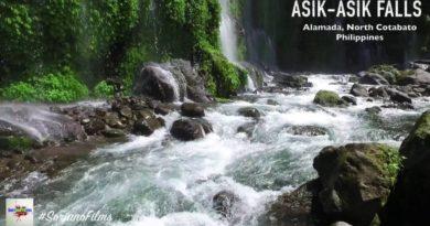 Die Philippinen im Video - Majestätische Asik-asik Wasserfälle in Alamada