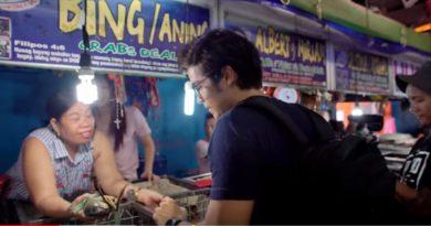 Die Philippinen im Video - Meeresfrüchteschmaus in Manila