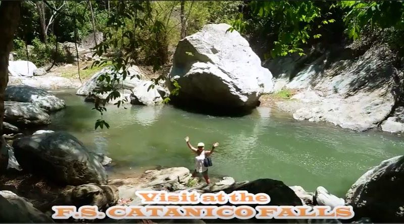 Die Philippinen im Video - F.S. Catanico Wasserfall in Cagayan de Oro Foto + Video: Sir Dieter Sokoll KR