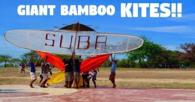 Die Philippinen im Video - Riesedrachen fliegen lassen