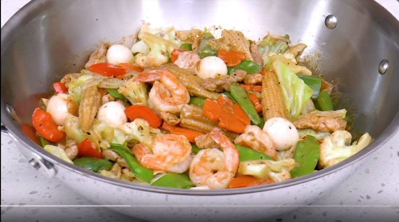 Die Philippinen im Video - Chop Sue Rezept mit Shrimps