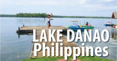 Die Philippinen im Video - Lake Danao auf den Camotes Inseln