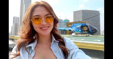 Die Philippinen im Video - Pendeln mit dem Hubschrauber in Manila