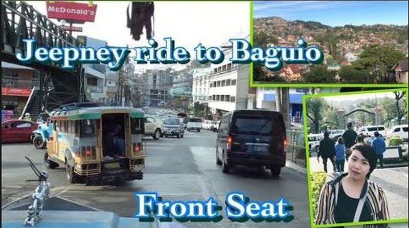 Die Philippinen im Video - Jeepneyfahrt auf dem Vordersitz von La Trindad nach Baguio