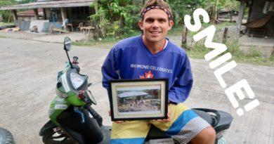 Die Philippinen im Video - Erinnerungen an Dinapigu in der Provinz Isabela