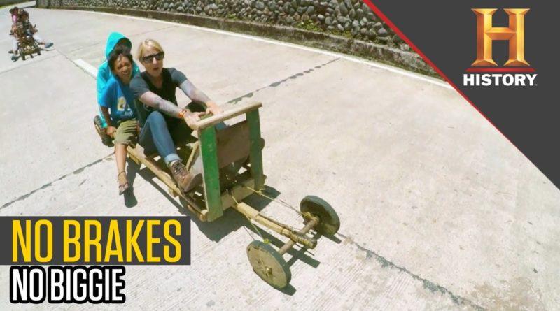 Die Philippinen im Video - Ohne Bremsen mit dem Tal-Talak die Straße hinunter