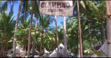 Die Philippinen im Video - Bestes Strandcamping auf Siquijor