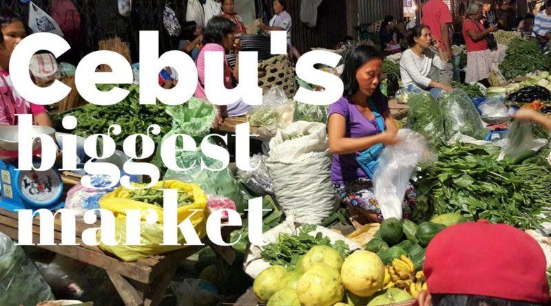 Die Philippinen im Video - Einkaufen auf dem Carbon Markt bei Nacht