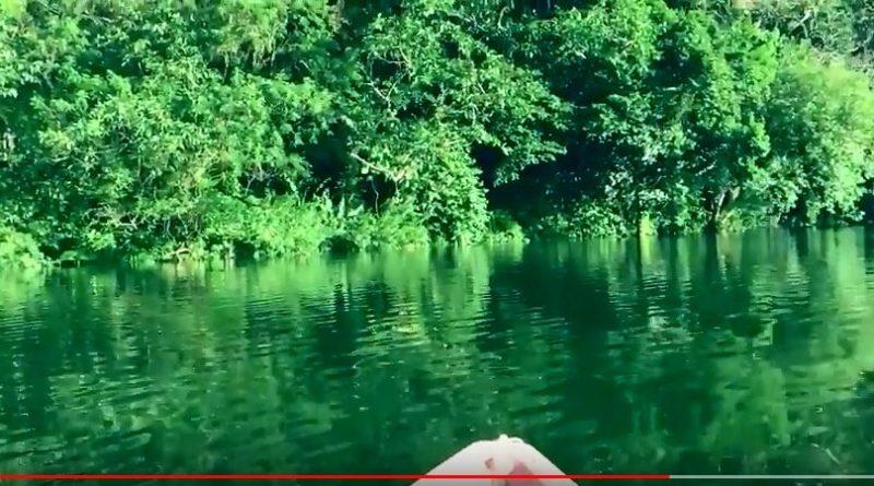 Die Philippinen im Video - Auf dem See Bulusan